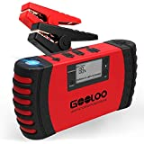 GOOLOO Upgraded Car Jump Starter, 800A Peak 18000mAh with USB Quick Charge (Up to 7.0L Gas or 5.5L Diesel Engine) SuperSafe 12V Auto Battery Booster Portable Power Pack Built-in Smart Protection