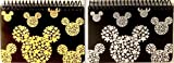 DISNEY MICKEY MOUSE BLACK SPIRAL AUTOGRAPH BOOKS - (2 Books Set) (STARHEAD)