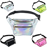Best Metallics - Holographic Fanny Packs - Ablerv Metallic Shiny 80s Review