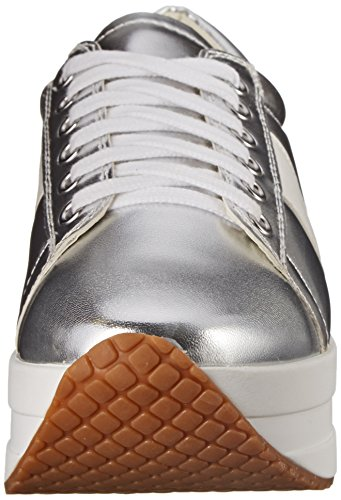 Steve Madden Strippey zapatilla de deporte de moda Plateado