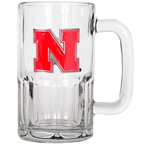 NCAA Nebraska Cornhuskers 20-Ounce Root Beer Style Mug with Primary Logo