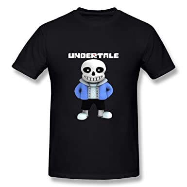 Amazon com: CaiTian Men's Cute Undertale Sans T-Shirt