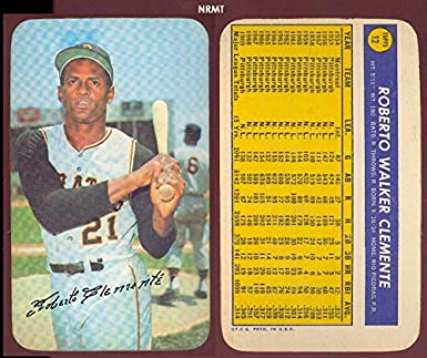 Amazoncom 1970 Topps Super Baseball Card12 Roberto