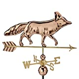 Good Directions Fox Weathervane, Pure Copper