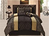 Safari - Leopard Combo Comforter Set, Queen Size