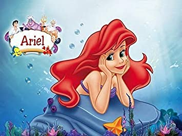 Sirenita Ariel Comestible Decoracion Para Tarta Para Pastillaje 1 4