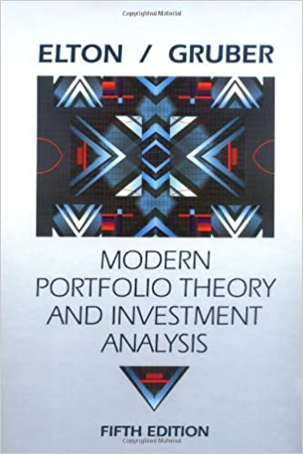 Amazon.Com: Modern Portfolio Theory And Investment Analysis