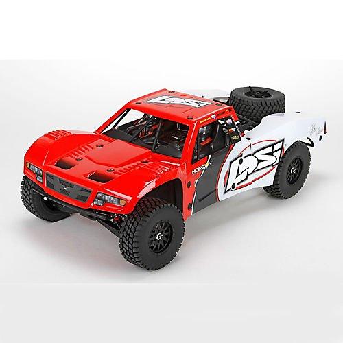 Losi Throttle (Team Losi Baja Rey: 1/10-Scale AVC RTR 4WD Trophy Truck(Red))