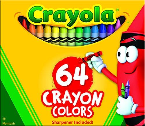 Crayola 64 Ct Crayons 52 0064