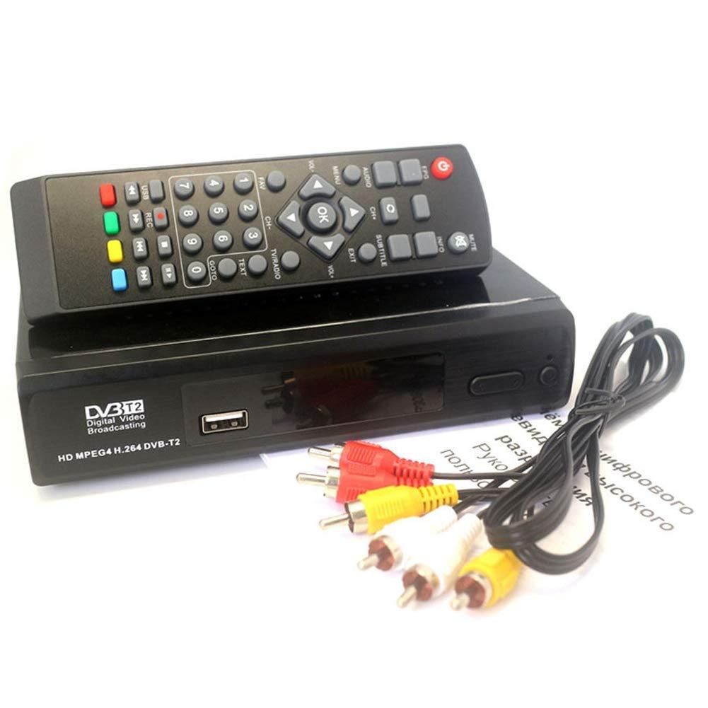 RETYLY Receptor TV 1080P Dvb-T2 Digital Terrestre ...