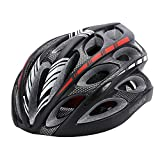 Cheap Gonex Adult Bike Helmet, Cycling Road Helmet with Safety Light, Adjustable 58-62cm, 24 Integrated Flow Vents(Black)