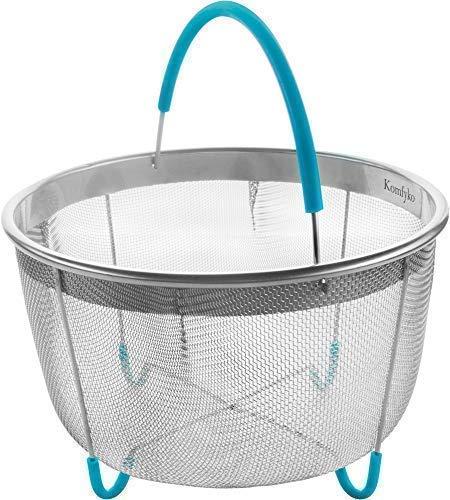 Komfyko Steamer Basket 6 Quart  - Compatible With Instant Po