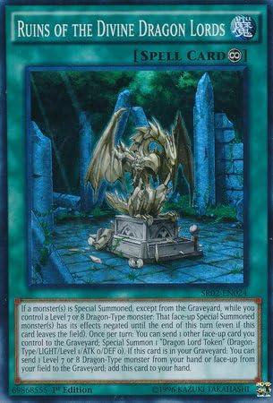 YU-GI-OH CARD SDRR-EN030 RETURN OF THE DRAGON LORDS MINT