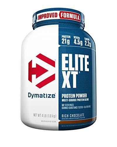 Dymatize Elite XT Protein Powder Blend, Rich Chocolate, 4 (Dymatize Elite Protein Chocolate)