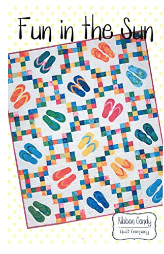 - Fun in the Sun Quilt Pattern, Batik and Layer Cake 10