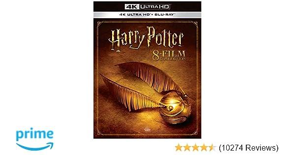 Amazon com: Harry Potter Collection (8pk/4K Ultra HD + Blu