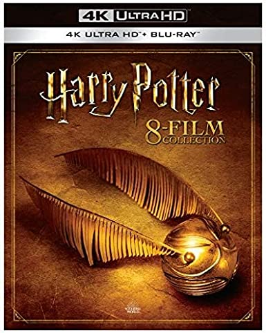 Harry Potter: Complete 8-Film Collection USA Blu-ray: Amazon.es ...