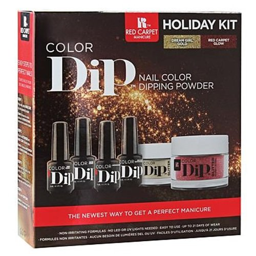 - Red Carpet Manicure - Color Dip - Holiday Kit