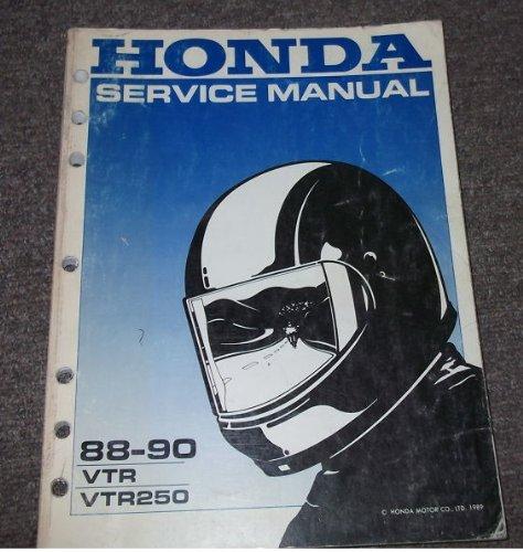 1988 1989 honda vtr 250 service manual