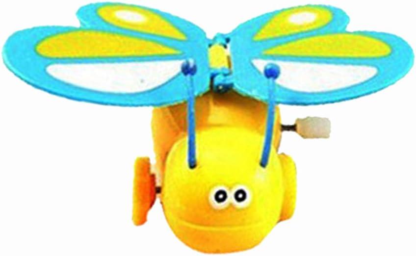 2pcs Chenille et Papillon Mécanique Horlogerie Jouet à Remonter Enfants