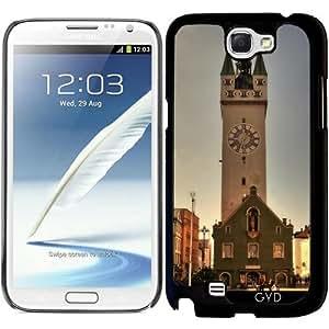 Funda para Samsung Galaxy Note 2 (GT-N7100) - Ciudad Torre Straubing by Helsch1957