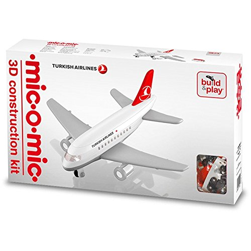 Mic O Mic 3189379 Middle Jet Plane Turkish Airlines Construction Kit By Mic O Mic