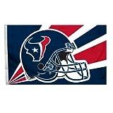 Fremont Die NFL Houston Texans 3-by-5 Foot Helmet Flag