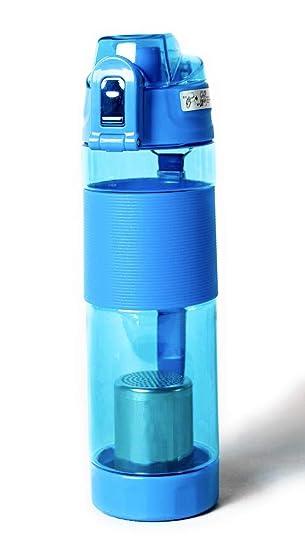 Amazon.com: Botella de agua alcalina de hidrógeno sin BPA ...