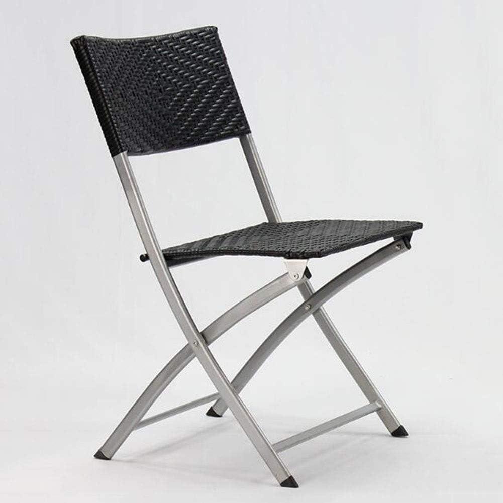 Amazon.com: ZHONGQI Comfortable Folding Chairs Steel Construction