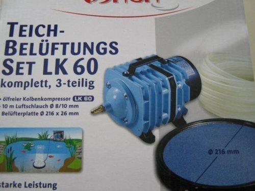 Teichbelüftungs Set LK60 komplett 3-teilig Otto Schierhölter