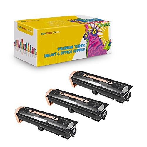 New York TonerTM New Compatible 3 Pack 52117101 High Yield Toner for Oki-Okidata : B930DN | B930DTN | B930DXF | B930N. --Black