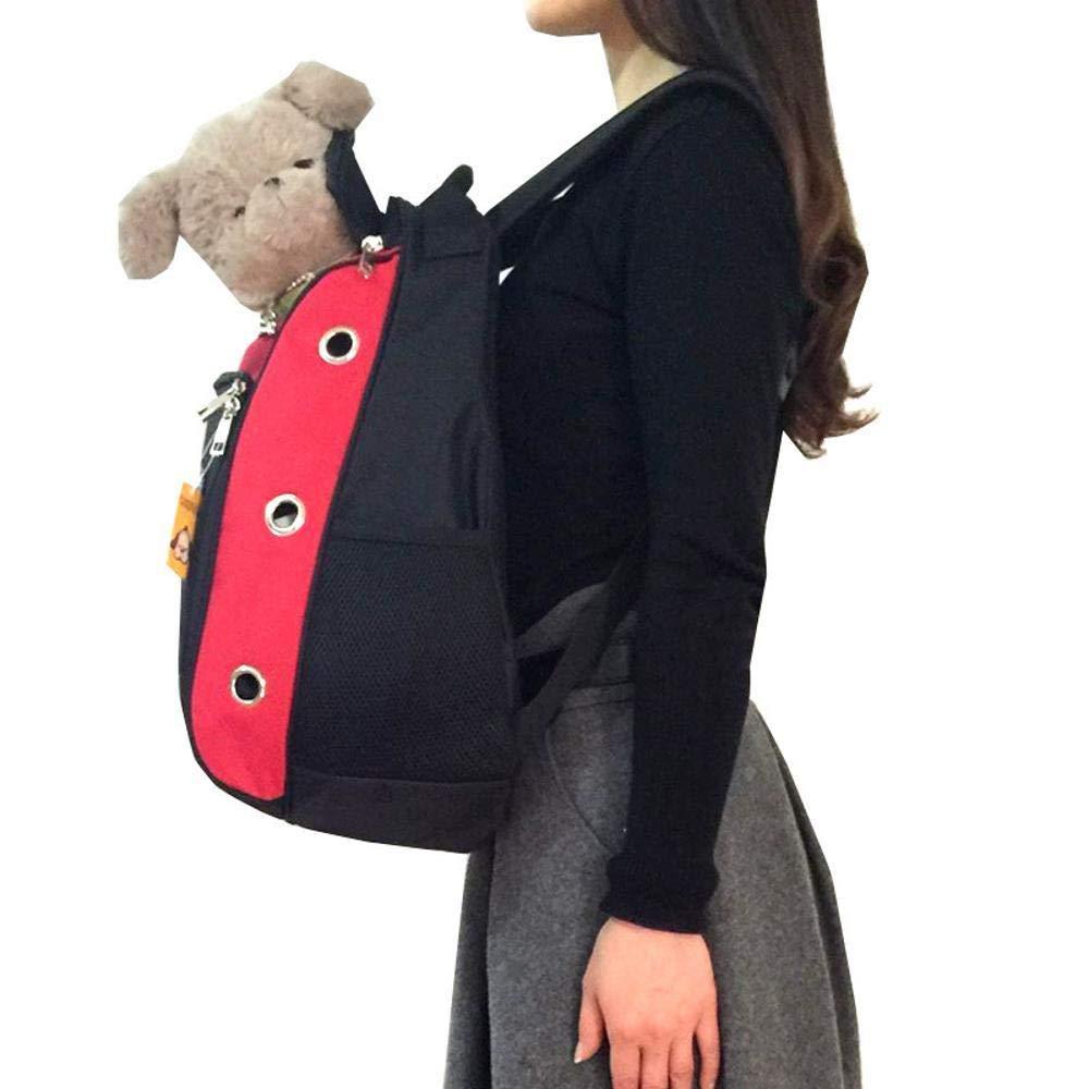B Aoligei Oxford Cloth Chest Double Shoulder Portable Dog Bag cat cage, 30  20  45cm
