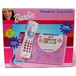 Barbie 3-In-1 Telephone Alarm Clock Radio