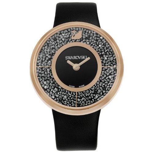 Swarovski-Crystalline-Watch-black-rose-gold