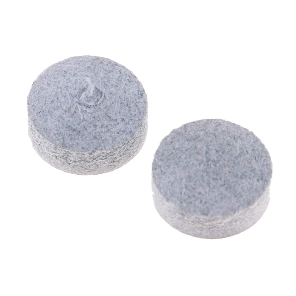 Dif/ícil Baoblaze Puntas de Cuero de Vaca 8pcs Pack 10.5mm para Tacos de Billar Hechos a Mano de 10-10.5mm