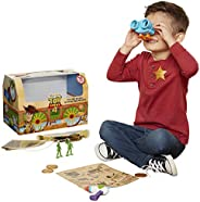 Toy Story Disney 4 Trunk, in A Box! 10Piece Woody Inspired Toy Chest - Includes Lenny The Binoculars, Buzz Lig