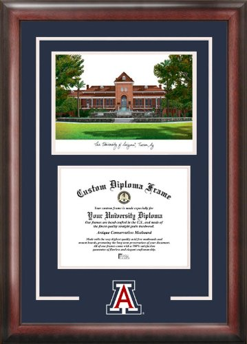 Campus Images University of Arizona Wildcats Spirit Graduate Frame Arizona Wildcats Photo Album