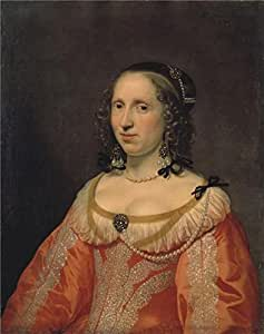 'Portrait of a Woman,1649 Bartholomeus van der Helst' oil painting, 20x25 inch / 51x64 cm ,printed on high quality polyster Canvas ,this Amazing Art Decorative Prints on Canvas is perfectly suitalbe for Hallway artwork and Home gallery art and Gifts