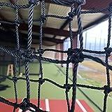 GAMERS SPORTS GROUP BASEBALL L SCREEN 7'x7' PILLOWCASE REPLACEMENT NET 60 GAUGE HDPE