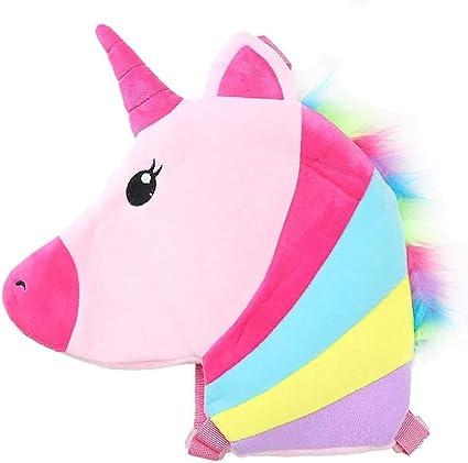 Hacoly Mochila Unicornio Mochila para niños Paño de algodón ...