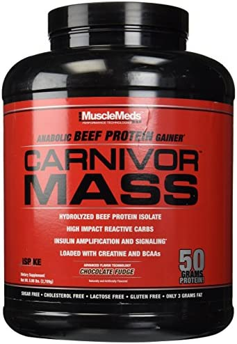 Muscle Meds Carnivor Mass Chocolate Fudge – 5.99 lbs