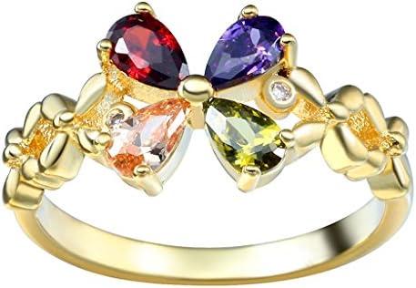 リング 指輪 レディース オシャレ ファッション 華奢 シンプル ジュエリー プレゼント 彼女 ジルコニア ゴールド約19号