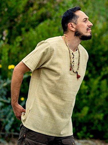Dress for Earth Hemp Shirt 100/% Hemp Handwoven