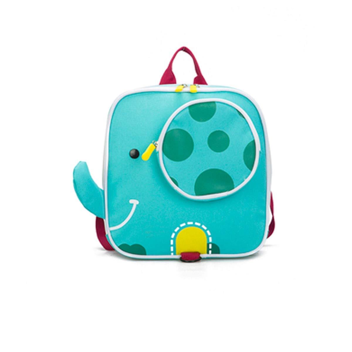 Jinnuotong スクールバッグ 学生バッグ 耐摩耗性防水バックパック 3歳~7歳のお子様 24cm 10cm 30cm 青いかわいい(サイズ:241028cm スタイル:A3) B07QNWW74W