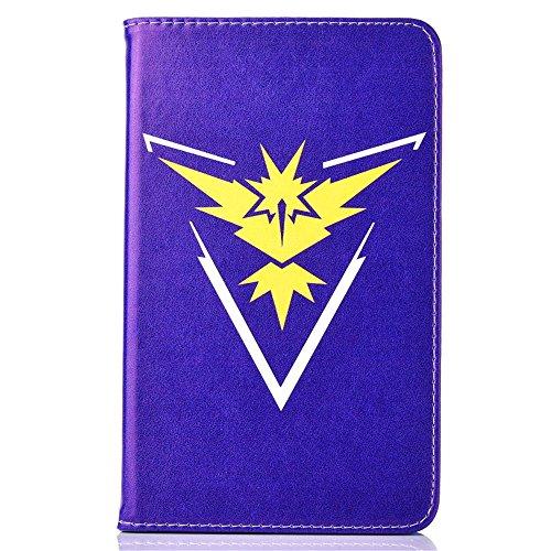 Samsung Galaxy Tab A 7.0 2016 Case, Phenix-Color Pokemon Go Cartoon Cute Premium Flip Stand PU Leather Shell Case for Samsung galaxy Tab A 7.0 inch 2016 SM-T280 SM-T285 Tablet (#10) (Pokemon Tablet Case 7 Inch)