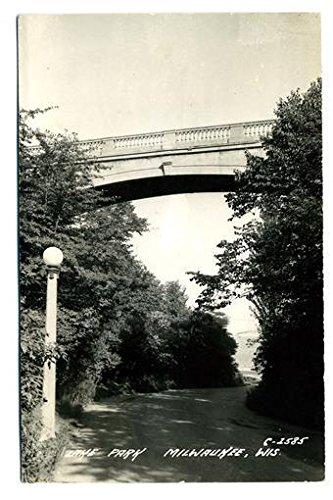 Lake Park Real Photo Postcard 1943 Milwaukee ()