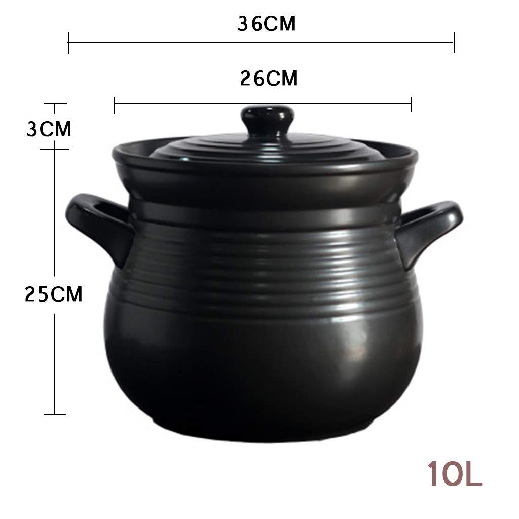 Cazuela De CeráMica Olla De Cocina Cocina De Gas Llama De ...