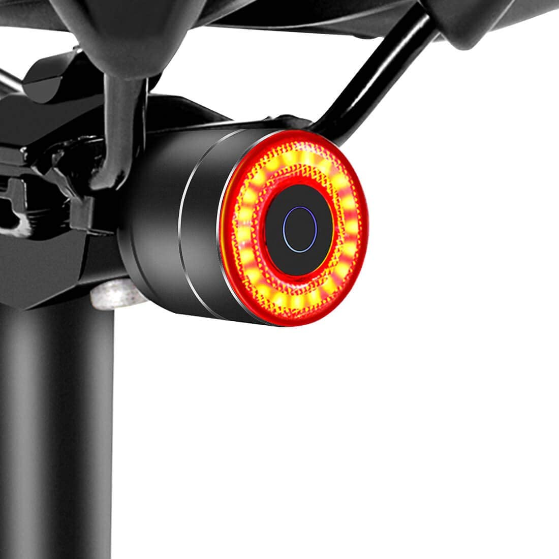 Details about  /Bicycle Rear Tail Light Lamp 120LM COB LED USB Rechargeable Taillight US