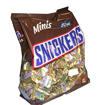 Amazon.com : Snickers Minis - 50 oz : Candy And Chocolate ...