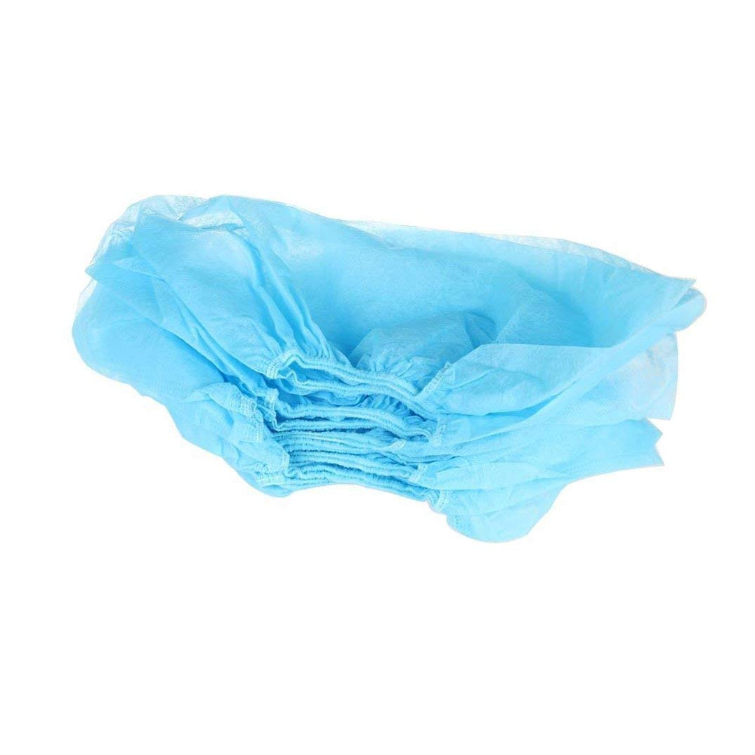 100 Pcs Disposable Plastic Shoe Covers Carpet Cleaning Overshoe Per4mer